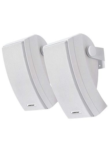 Bose 251 Dış Mekan Beyaz Stereo Hoparlör Seti Beyaz